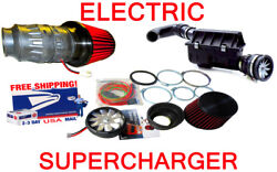 Fit For Ford Electric Air Intake Supercharger Fan Power Switch Power Kit