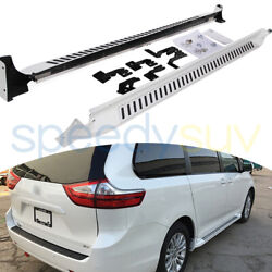 Running Board Side Step Fit for Toyota Sienna 2011-2020 Platform Iboard Pair