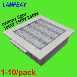 Led Canopy Light 100w 150w 200w Gas Station Lighting Ceiling Lamp Downlights