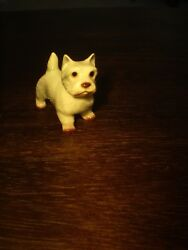 HAGEN RENAKER WEST HIGHLAND WHITE WESTIE TERRIER DOG FIGURINE EXCELLENT
