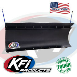 Kfi 60 Atv Poly Blade Snow Plow Kit For 2013-2015 Can-am Outlander 500 / 500max