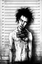 New Black Market Art Company Sid Mugshot Canvas Giclee Prints Made In The Usa