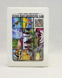 Collectible Texas High Adventure Base Longhorn Council Boy Scout Playing Cards