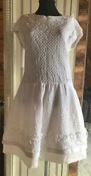 RARE COOL CHANEL DRESS Light Pink FR SIZE 42 US M-L