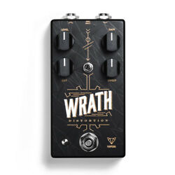 Foxpedal Wrath V2 Distortion Guitar Effect Pedal Stompbox True Bypass Footswitch
