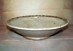 Vintage Japanese Earthenware Pottery Charger Plate