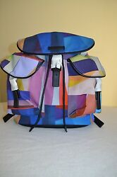Paul Smith PS Womens COLOURBLOCK Backpack New