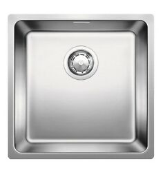 Blanco Andano Inset/flushmount Sink 45cm Overflow And Waste Stainless Steel
