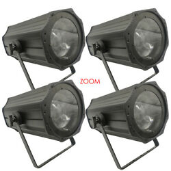 4-pcak 200w Zoom Beam Wash Led Par Light For Church Disco Party Dj Stage Theater