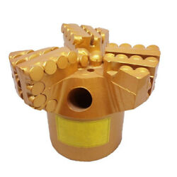 133mm 3 Wings Whole Piece Pdc Drill Bit For Sandstone Drilling With 1-4 Water Ho
