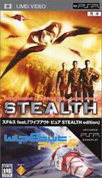 Stealth Contact. Wipeou JAPAN UMD Universal Media Disc Color UMS-36965 2006 NEW