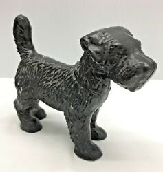 Cast Iron Scottish Terrier Door Stop Vintage