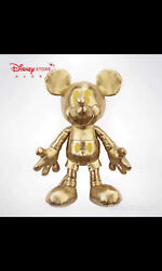 NWT Mickey mouse 12.6 in 90th Golden Plush Disney memories limited Edition