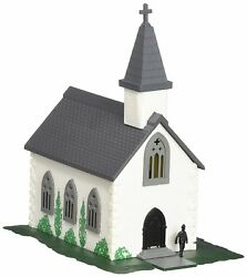 Bachmann Plasticville Country Church Built-up N Scale 45815 New