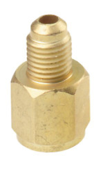 Refrigerant Tank Adapter R134A Connects R12 Hose to 12