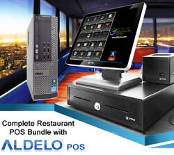 Aldelo Pro Pos Restaurant Bakery Bar Complete Pos System Station Win 7 New