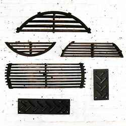 Antique Industrial Foundry Patterns For Molds Handmade Set Of Six - Group 1