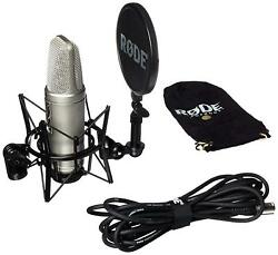 Vocal Condenser Microphone Package w Microphone Cable  Rode NT2A Anniversary