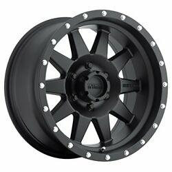 Method Race Wheels The Standard Matte Black Wheel With Stainless Steel Accent Bo