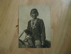 Frederick Monsen Lectures Booklet - Vintage Early 1900s Native American Brochure