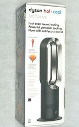 Dyson AM09 Hot+Cool Jet Focus Fan Heater - BlackNickel New Sealed