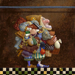 Hold To The Rod The Iron Rod By James C. Christensen Artist Proof Canvas