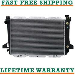 Radiator For 85-95 Ford Bronco F150 F250 F350 4.9l Free Fast Shipping Direct Fit