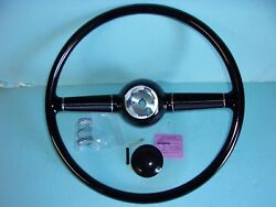 1940 Ford Deluxe Sterring Wheel And Horn Button Fits Gm Columns
