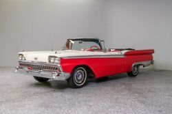 1959 Ford Galaxie Convertible 1959 Ford Galaxie 500 Convertible 19458 Miles Red Convertible 352 ci 3-Spd Auto