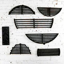 Antique Industrial Foundry Patterns For Molds Handmade Wood Set Of Seven Andndash Grp 2