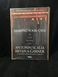 Making Your Case : The Art of Persuading Judges an unabridged reading by the aut