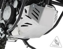 Kawasaki Klr650 And03908-and03917 Silver Sw-motech Alum Skid Plate Engine Guard