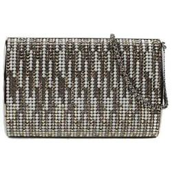 Chanel New 2014 Clutch Wristlet Bag - Mini Rhinestone Leather Crystal Handbag