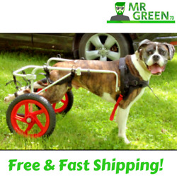 Dog Wheelchair with Wheels for Back Legs Large Size Breed GREAT Full Harness