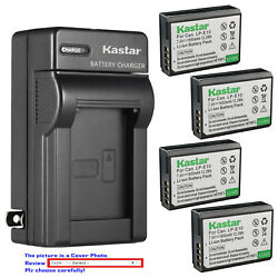 Kastar Battery Wall Charger for Canon LP E10 LC E10 amp; Canon EOS Rebel T6 Camera