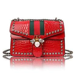Designer Bee Crossbody Bag for Women Fashion Single Shoulder Bags with Chain