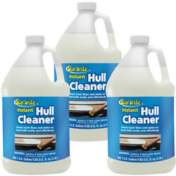 3-pack Star Brite Instant Hull Cleaner 1 Gal. Cleans Boat Scum Lines And Stains