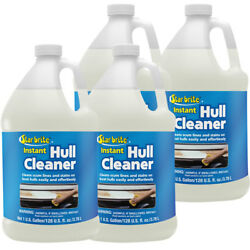 4-pack Star Brite Instant Hull Cleaner 1 Gal. Cleans Boat Scum Lines And Stains