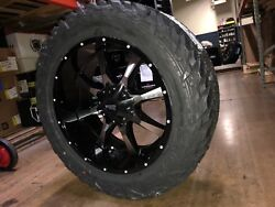 20x10 Moto Metal Mo970 35 Fuel Mt Wheel And Tire Package 8x6.5 Dodge Ram 2500