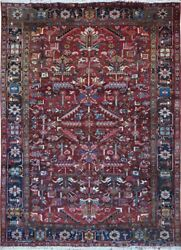 Authentic Wool Rnr-9255 7and039 8 X 10and039 5 Persian Heriz Rug