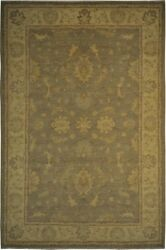 Authentic Wool 6and039 1 X 9and039 2 Pakistan Peshawar Rug Rnr-9960