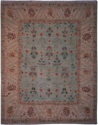 Authentic Wool 8' 0 X 10' 0 India Sultanabad Rug Rnr-9512