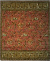 Authentic Wool 8' 3 X 10' 1 India Sultanabad Rug Rnr-9534