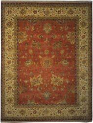 Authentic Wool 7' 9 X 10' 2 India Sultanabad Rug Rnr-9530