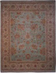 Authentic Wool 8' 0 X 10' 2 India Sultanabad Rug Rnr-9522