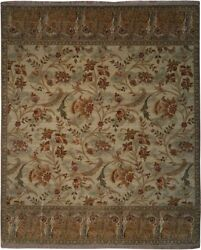 Authentic Wool 8' 3 X 10' 1 India Sultanabad Rug Rnr-9566