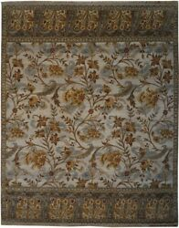 Authentic Wool 8' 0 X 10' 0 India Sultanabad Rug Rnr-9577
