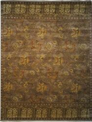 Authentic Wool 8' 2 X 10' 0 India Sultanabad Rug Rnr-9576