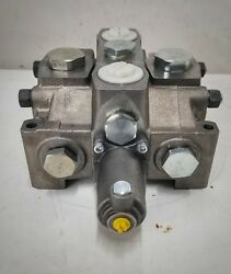 Hydraulic Sectional Valve D 25 Motor Spool Pilot Operated Power Beyond 100 Gpm
