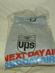 (1) UNITED PARCEL SERVICEUPS NEXT DAY2ND DAY AIR SHIRT EMPLOYEE EXCLUSIVE80's